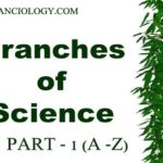 Branches of Science with Definition in Alphabetical Order Part – 1 ( A – E )