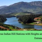 List of Famous Indian Hill Stations with Heights and Locations