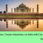 List of Famous Sites ( Tourist Attractions ) in India with City and State Names