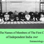 List of The Names of Members of The First Cabinet of Independent India 1947