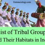 List of Tribal Groups and Their Habitats in India – Indian Geography Study