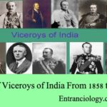 List of Viceroys of India From 1858 to 1950 – Modern History of India