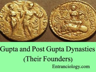 gupta and post gupta dynasties and their founders entranciology