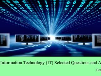 computer and information technology it important questions and answers mcq for civil services exams entranciology set 7