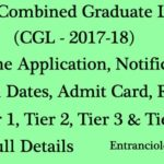 SSC CGL Apply Online : 2017-18, Notification, Exam Dates, Result, Admit Card