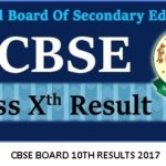CBSE Board 10th Result 2017 Declared : Check Board Results Online