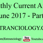 Current Affairs June 2017 For All Competitive Exams – Part 1