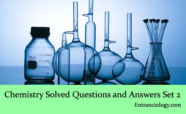 Chemistry Solved Multiple Choice Questions and Answers