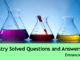 chemistry science solved questions and answers for civil services entrance exams important set 3 entranciology