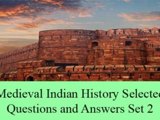 medieval indian history questions and answers multiple choice mcqs entranciology competitive exams civil services set 2