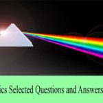 Physics Selected Questions and Answers Set 5
