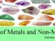 uses of metals and non metals for competitive exams entranciology