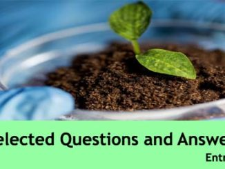 biology solved questions and answers previous years papers entranciology science mock test paper set 11