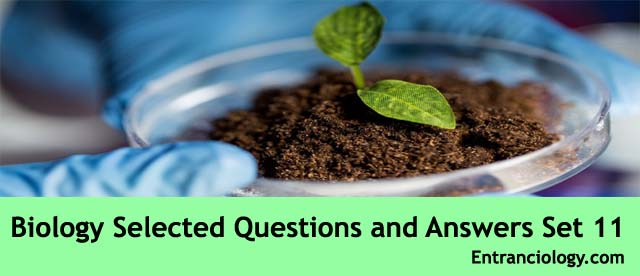 Biology, Botany & Zoology Selected Questions and Answers For