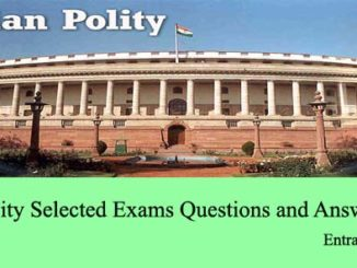 indian polity multiple type questions and answers mcqs set 2 upsc ias ips ssc cgl ibps po bank clerk deo mts entranciology set 2