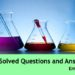 Chemistry Solved Questions and Answers Set 3